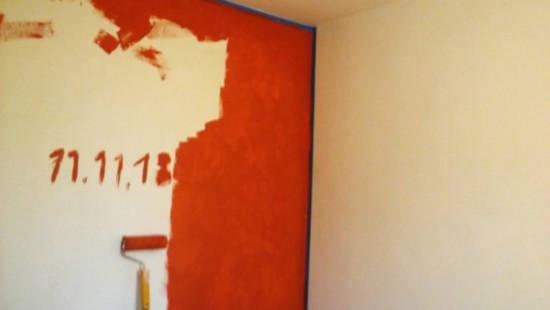 """Zdjęcie pozakonkursowe organizatora konkursu pt. """"Pokój w narodowych kolorach pomalowany właśnie 11.11.18"""""""