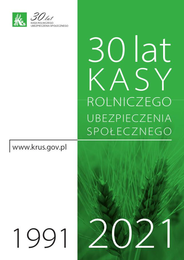 Plakat 30-lecie KRUS