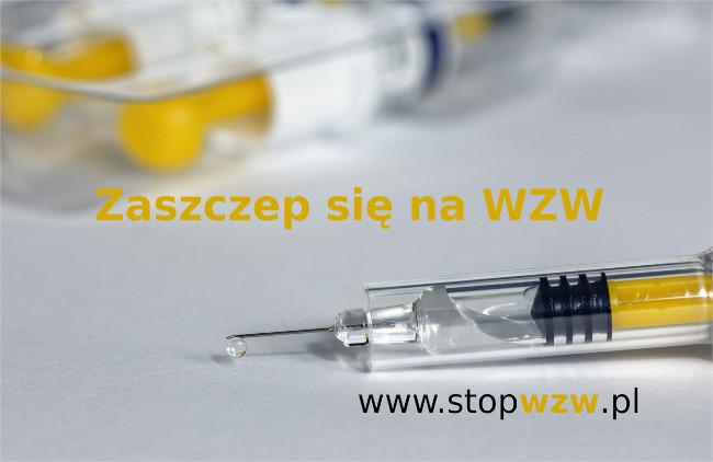 Baner: zaszczep się na WZW. www.stopwzw.pl